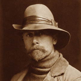 Autoportrait d'Edward S. Curtis